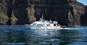 Cliffs of Moher Ferry on board Doolin Ferry Co.