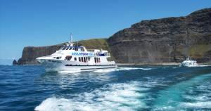 Cliffs of Moher ferry from Doolin.