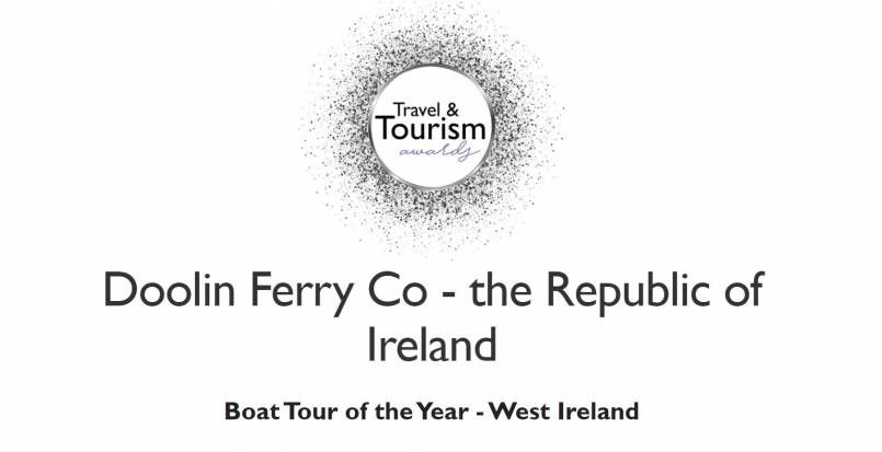 Aran Islands Ferry Boat Tour of the Year award 2021 from Doolin to Aran Islands