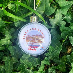 Aran Islands Christmas Tree Bauble