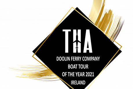 Boat Tour of the Year Award Doolin Ferry Company, best Aran Islands Ferry.