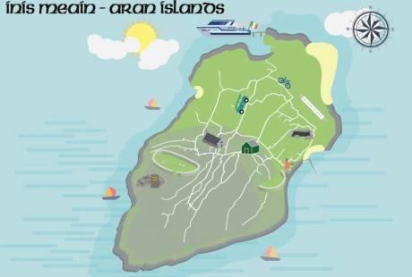 Inis Meain Map