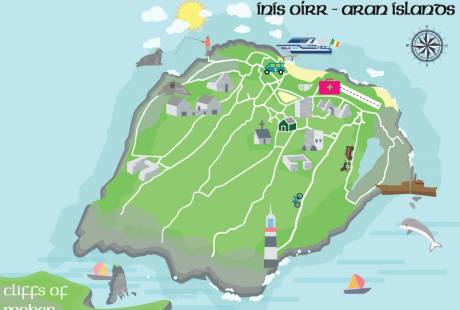 Inis Oirr Map