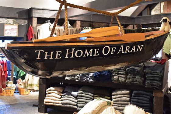 Aran Sweater Market on Inis Mor, Aran Islands