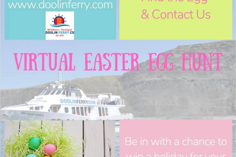 Easter Egg Hunt with Aran Island Ferry