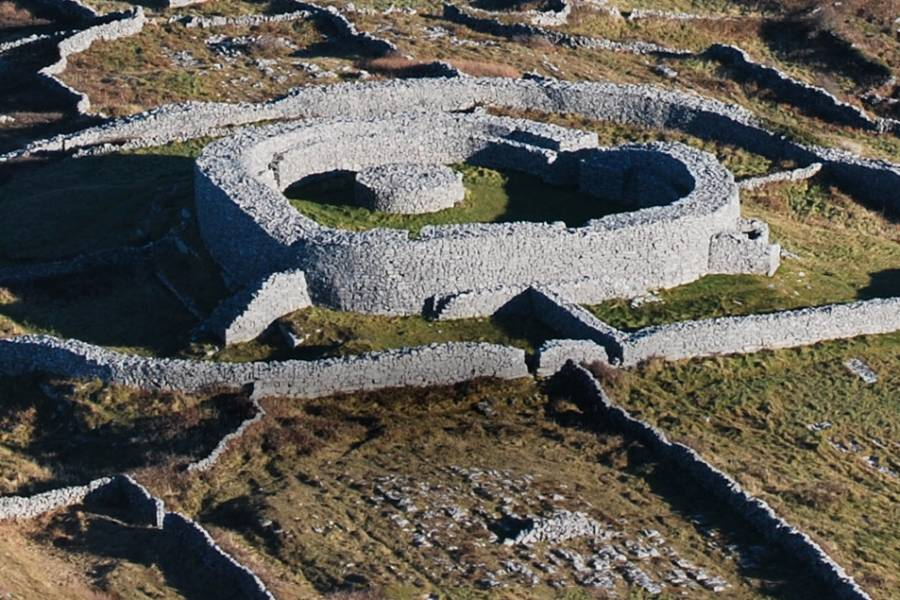 Dún Chonchubair, Fort of Conor on Inishmaan