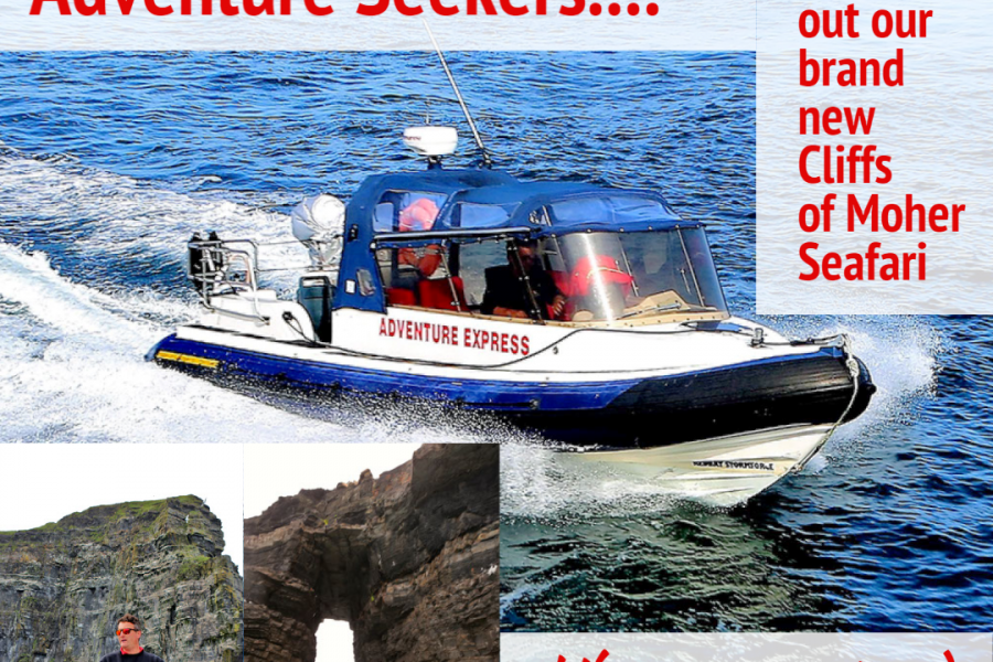 Seafari with Doolin Ferry company competition to the Aran Islands and Cliffs of Moher